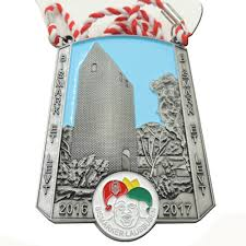 High quality hot selling <b>double sided</b> medal <b>custom</b> Chinese die cut ...
