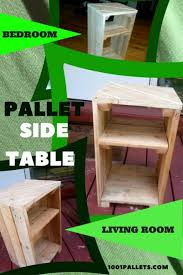 pallet furniture table. Multiuse Handy Pallet Side Table Nightstand Furniture