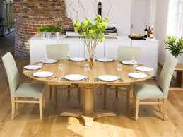 our round and square dining tables