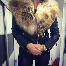 jacket black jacket black leather jacket leather jacket fur collar fur collar jacket