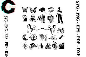 I have been searching for such black and white emoticons to copy and paste. Halloween Svg Bundle Best Premium Svg Silhouette Create Your Diy Projects Using Your Cricut Explore Silhouette And More The Free Cut Files Include Psd Svg Dxf Eps And Png Files