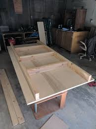 To make your table top really solid, all you need do is to put some trimmings around the edges of your table top. How To Build It Custom Gaming Table Idiot Tantrum