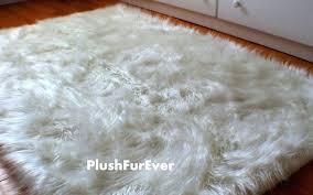 faux fur accent fake fur rug fabulous area rugs 8x10