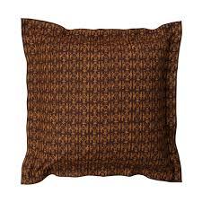 marimekko kuukuna brown throw pillow  marimekko sale