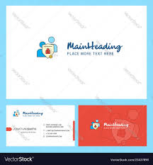 Chat Front Design Protected Chat Logo Design With Tagline Front