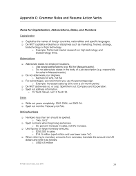 Using abbreviations in resume