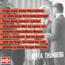 Greta Thunberg Die 7 Stärksten Zitate Der Klimaschützerin Utopiade