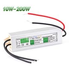 ac dc 12v outdoor waterproof transformer power supply adapter led light driver