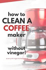 Coffee makers are then, turn the coffee maker back on, finish the brewing and dump the full pot of vinegar and water. Pin On Kitchen Cleaning