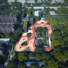 The Formation Urban Design Landscape Architecture Interiors Structures Mad Architects Begin Construction On Floating Kindergarten