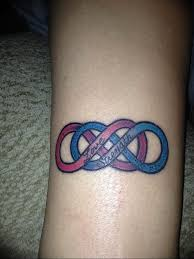 Photo Tattoo Two Infinity Signs 30062019 007 Tattoo Double