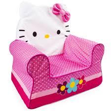 furniture hello kitty. amazoncom marshmallow furniture childrenu0027s foam comfy chair hello kitty by spin master toys u0026 games b