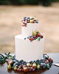 42 Fruit Wedding Cakes That Are Full Of Color And Flavor Martha