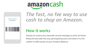 amazon cash lets you add cash to your amazon balance at local s