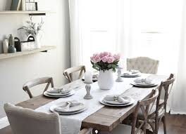 farmhouse dining room table setting farmhouse dining room table setting the decor is from