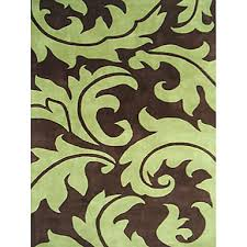 wool tufted area rugs with artisctic leaf pattern 3 5 670575 2018 118 79