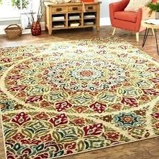 i colored striped bath mat color rug rugs block area multi round