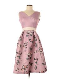 Details About Chi Chi London Women Pink Cocktail Dress 8 Uk