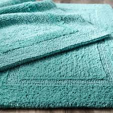 roselawnlutheran beautiful cotton bath rugs reversible cotton turquoise bath rug everything turquoise