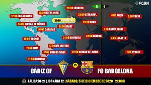 Cádiz vs FC Barcelona in TV: When and where see the match