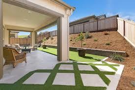 grass and pavers backyard design ideas