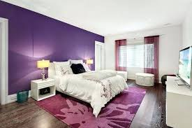 purple accent furniture. White Furniture For Bedroom With Bold Purple Accent Wall And Paint Wooden Uk