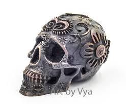 Skull Bedroom Accessories Skull Home Decor Etsy