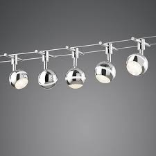 lighting cable system george 5 led lampandlightcouk
