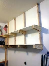 wall mounted storage shelves hanging garage shelves amazing garage shelves for your inspiration garage storage shelves wall mounted storage shelves