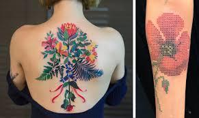 Květiny Na Kůži Objevte Krásu Tetování S Florálními Motivy ženycz