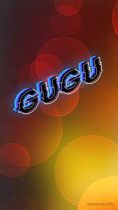 Gugu as a ART Name Wallpaper!