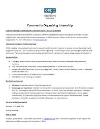 community-organizer-intern-job-description by Oakland Planning and  Development Corporation - issuu