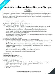 Headline For Resume Mkma Mesmerizing Administrative Assistant Resume Examples
