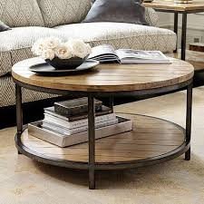 round industrial coffee table. Durham Round Coffee Table Industrial