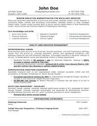 Sample Resumes Templates Executive Administrative Assistant Resume