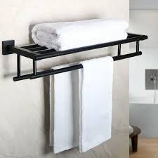bathroom wall shelves towel shelf