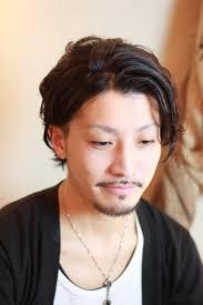 ワイルド 髪型 Sanpatsu