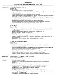 Qa Support Resume Samples Velvet Jobs