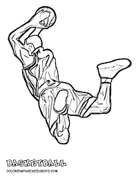 Small Picture Basketball coloring pages nba ColoringStar