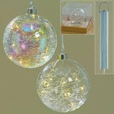 Led Kugel Glas Hänger Jilian Weihnachten Fensterdekoration