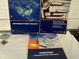 Details About 3 Sylvania Lighting Product Books 2004 Ballast Technology And Specs Product Cata