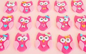 Printable Owl Cupcake Toppers Pink Printable Owl Baby Shower DIY Baby Shower Owl Cake Toppers
