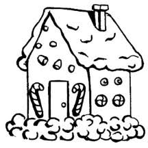 Small Picture Gingerbread House Candy Coloring SheetsHousePrintable Coloring