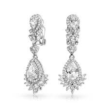 clip earrings vintage pearl sterling silver ons for all teardrop chandelier dangle rose gold bling jewelry