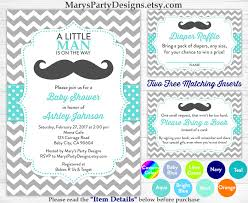 little man baby shower invitation boy baby aqua blue mustache little man baby shower invitation boy baby aqua blue mustache sprinkle diaper raffle ticket book request card peronalized printable by