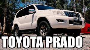 Toyota Prado Turbo Diesel 0-100kmh 1KZ-TE 3.0L Auto Testdrive Review ...