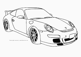 Car Coloring Book Images