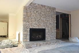 wonderful living room reface brick fireplace with stone for veneer over regarding stone veneer over brick fireplace attractive