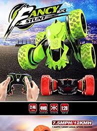 Buy New Impoted Placehap <b>1/28 RC Stunt</b> Car 2.4GHz Racing Slot ...