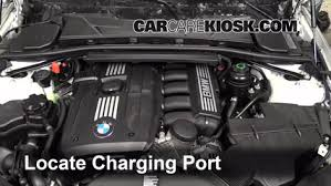 Bmw Refrigerant And Oil Capacity Charts How To Add Refrigerant To A 2006 2013 Bmw 328i Xdrive 2011